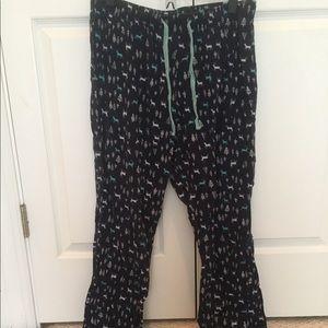 Old Navy Reindeer Flannel Pajama Pants